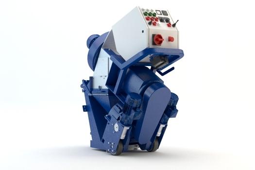 Pallinatrici per ferro 350E - La 350E è una pallinatrice per ferro perfetta per interventi di piccole e medie dimensioni. Può essere facilmente smontata e rimontata dentro uno spazio di 600 millimetri. Per interventi su grandi superifici, vi consigliamo di visionare il modello Blastrac 500E Global.