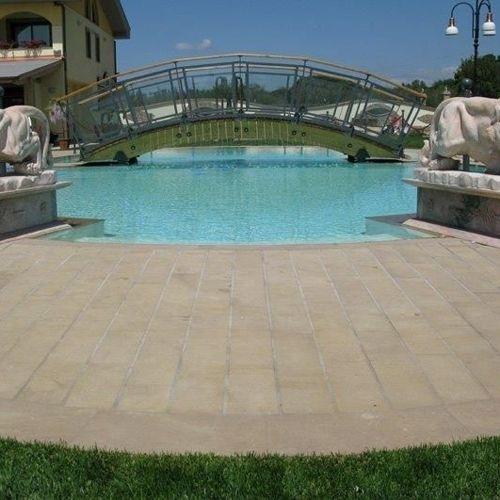 Hotel Villa Sofia - Materiali utilizzati: Santafiora River.