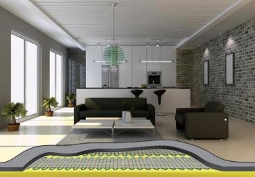 Impianti a pavimento a infrarossi