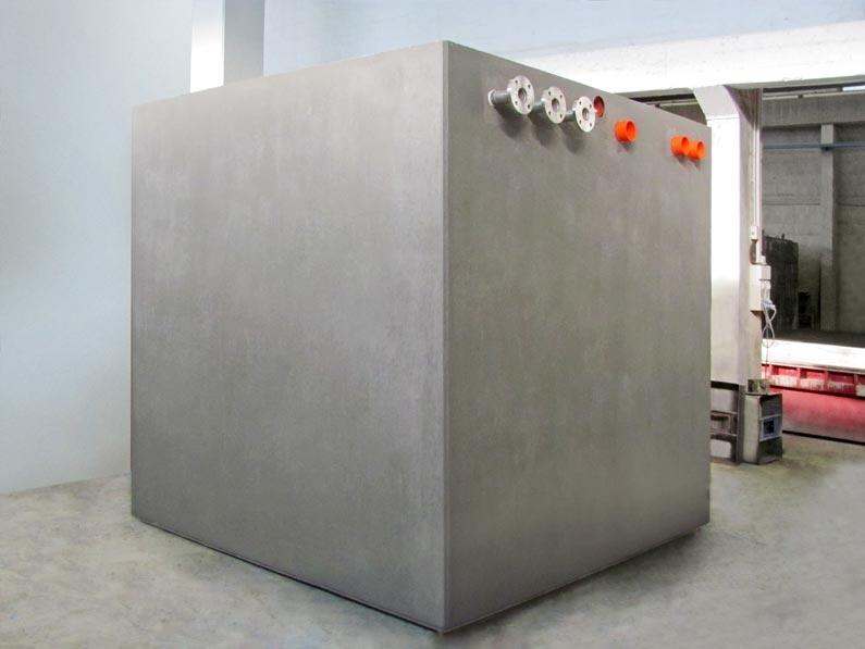 """Impianti di Pressurizzazione Idrica - Gli Impianti di Pressurizzazione Idrica Gazebo per il settore civile o industriale, sono composti da vasche prefabbricate monoblocco in C.A. realizzate con gli innovativi """"FRC Gazebo System"""" o """"SCC Gazebo System"""" (utilizzate come riserva idrica e locale tecnico) e corredati di adeguati sistemi di pompaggio/pressurizzazione. Tutti i componenti meccanici, idraulici ed elettrici dell'impianto sono già preassemblati e cablati all'interno del locale tecnico in conformità alle normative vigenti. Così, non è più necessaria alcuna lavorazione. Tempo risparmiato, risultato assicurato. Criteri di dimensionamento in conformità alle normative vigenti: UNI EN 806 – UNI 9182 (dimensionamento e calcolo impianti idrici / pressurizzazione – autoclave). D.M. 174/2004 – Regolamento Europeo UE 10/2011 (materiali a contatto con acque ad uso potabile)."""