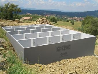 Vasche Prefabbricate in Cemento Armato (C.A.)