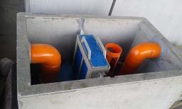 MINITANK Trattamento in continuo di acque di scarico da lavaggio di aree adibite a parcheggio coperto, inquinate da oli minerali e benzine
