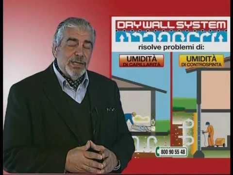 UMIDITA' - TRATTAMENTO LOCALI INTERRATI Dry Wall System