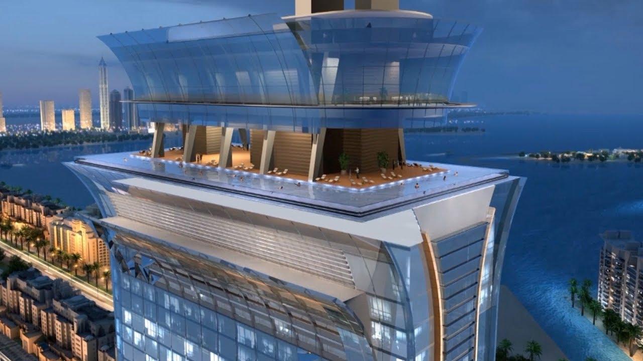 Dubai, l'ultima meraviglia: la piscina a sfioro a oltre 200 metri d'altezza