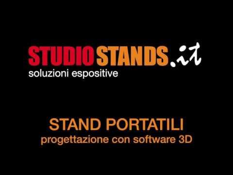 Stand Portatili - Progettazione 3D