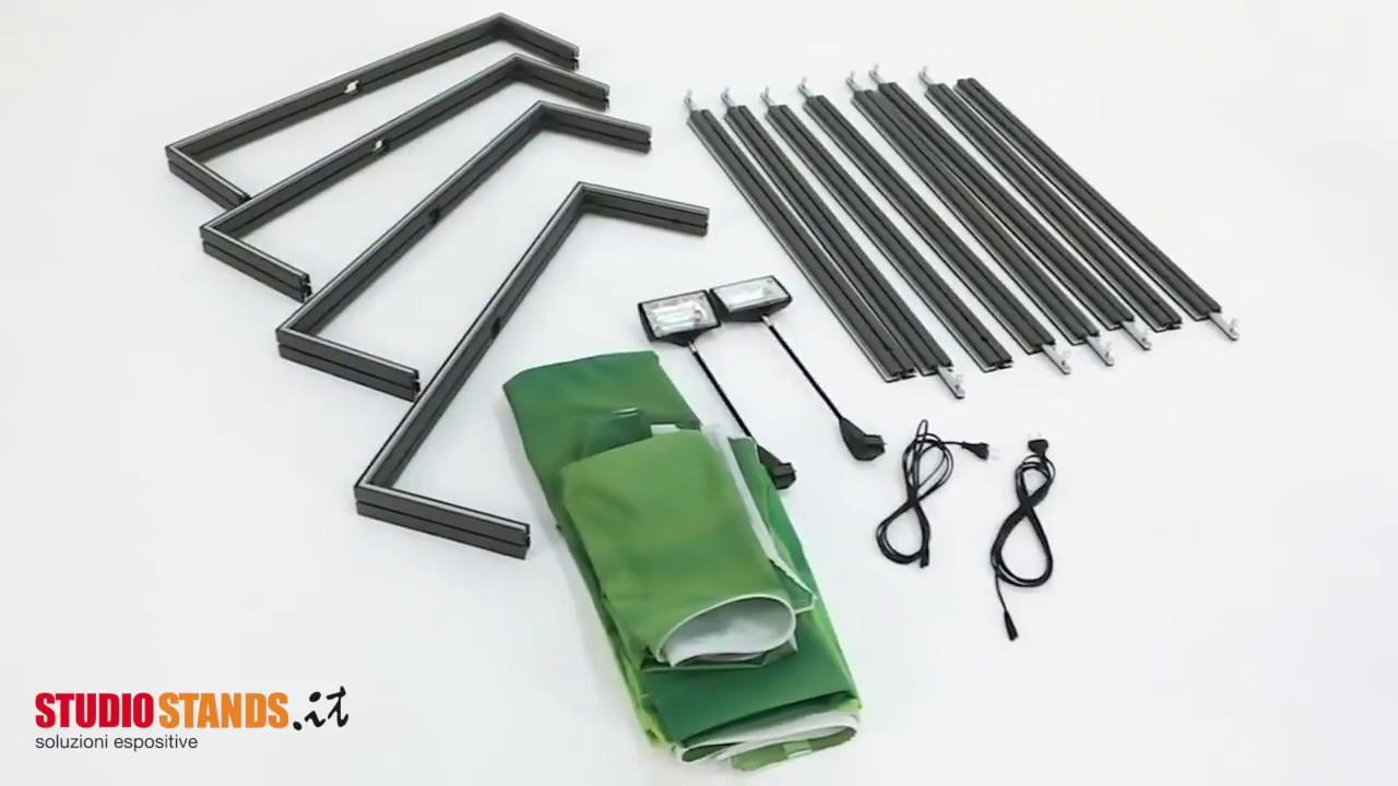 Stand Portatili - Strutture Textile Frame