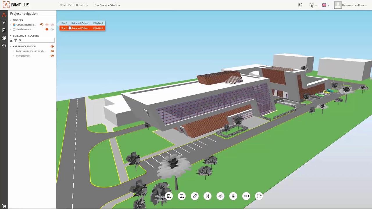 Allplan Bimplus - 02 Controllo del progetto e coordinamento del modello