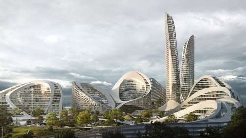 La futuristica smart city di Zaha Hadid Architects in Russia