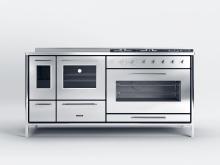 J.Corradi presenta la nuova cucina a legna Moderna