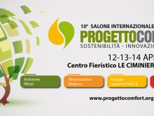 Dieci anni di Progetto Comfort a Catania fino a sabato 14 aprile alle Ciminiere